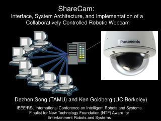 ShareCam: Interface, System Architecture, and Implementation of a