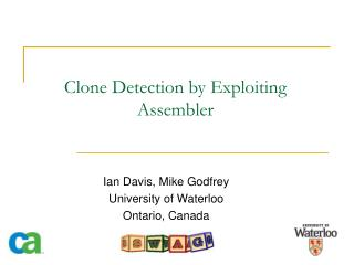 Clone Detection by Exploiting Assembler