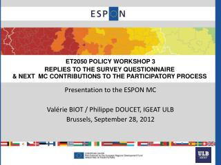 ET2050 POLICY WORKSHOP 3