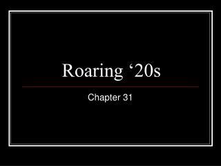 Roaring '20s