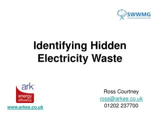 Identifying Hidden Electricity Waste