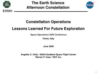 Constellation Operations Lessons Learned For Future Exploration