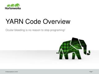 YARN Code Overview