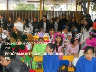 PROGRAMA INTEGRACION ESCOLAR PIE