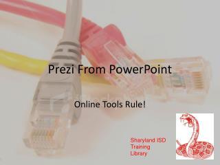 Prezi  From PowerPoint