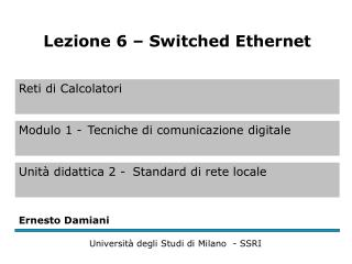 Ethernet switching (1)