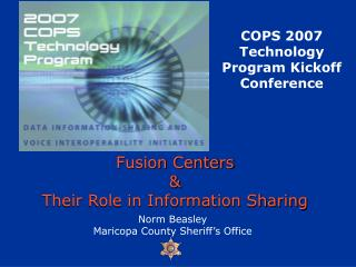 Fusion Centers & Their Role in Information Sharing