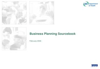 Business Planning Sourcebook
