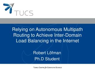 Relying on Autonomous Multipath Routing to Achieve Inter-Domain Load Balancing in the Internet