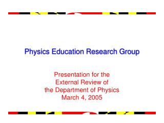 Physics Education Research Group