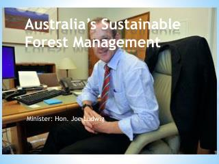 Australia's Sustainable Forest Management