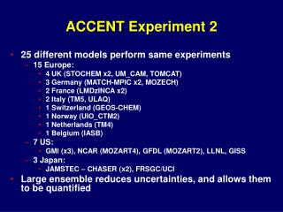 ACCENT Experiment 2