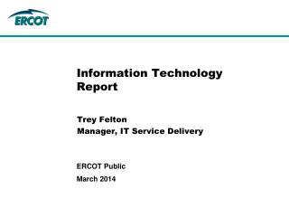 Information Technology Report