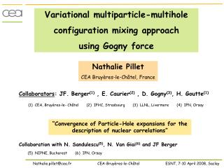 Variational multiparticle-multihole  configuration mixing approach  using Gogny force