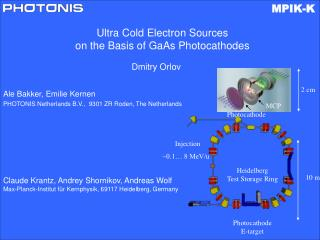 Ultra Cold Electron Sources  on the Basis of GaAs Photocathodes