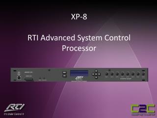 XP-8 RTI Advanced System Control Processor