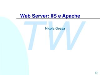 Web Server: IIS e Apache