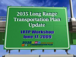 2035 Long Range Transportation Plan Update