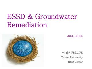 ESSD & Groundwater Remediation