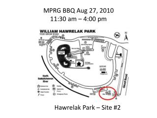 MPRG BBQ Aug 27, 2010 11:30 am – 4:00 pm