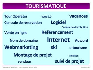 TOURISMATIQUE