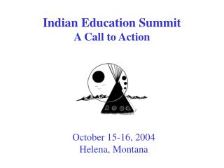 Indian Education Summit A Call to Action