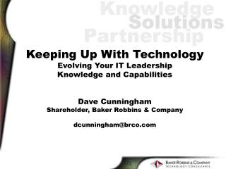 Business  Influences Technology  Department Services Technology  Leadership