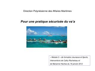 Direction Polynésienne des Affaires Maritimes