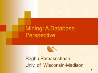 Mining: A Database Perspective