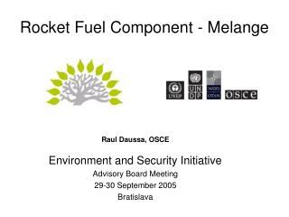 Rocket Fuel Component - Melange