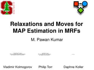 Relaxations and Moves for MAP Estimation in MRFs
