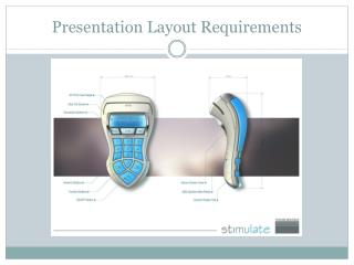 Presentation Layout Requirements