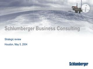 Schlumberger Business Consulting
