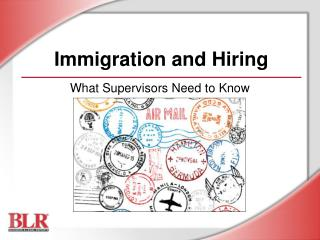 Immigration and Hiring