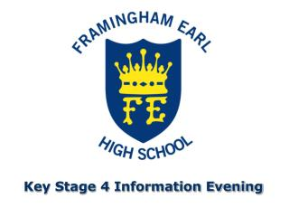 Key Stage 4 Information Evening