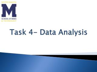 Task 4- Data Analysis