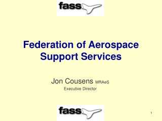 Federation of Aerospace Support Services