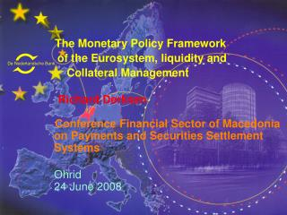The Monetary Policy Framework          of the Eurosystem, liquidity and