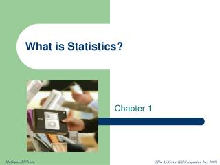 What is Statistics?