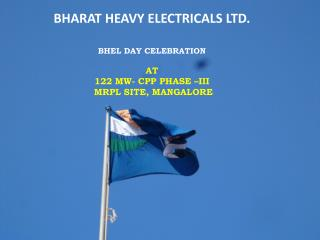 BHARAT HEAVY ELECTRICALS LTD. BHEL Day  Celebration AT
