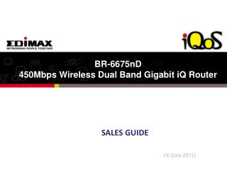 BR-6675nD 450Mbps Wireless Dual Band Gigabit iQ Router