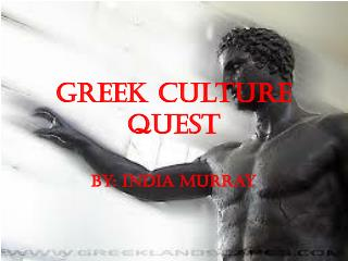 Greek Culture Quest