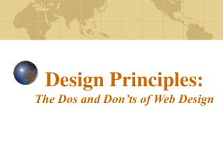 Design Principles: The Dos and Don'ts of Web Design