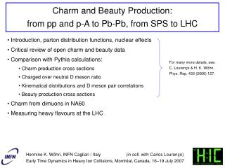 Charm and Beauty Production:  from pp and p-A to Pb-Pb, from SPS to LHC