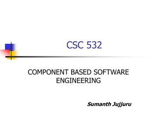 CSC 532