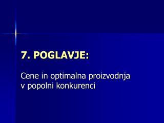 7. POGLAVJE: