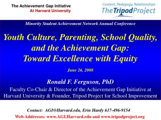 Minority Student Achievement Network Annual Conference