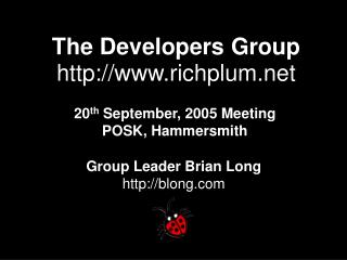 The Developers Group richplum