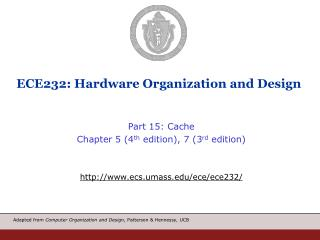 ECE232: Hardware Organization and Design