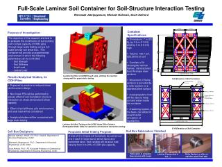Full-Scale Laminar Soil Container for Soil-Structure Interaction Testing